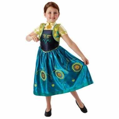 Feest kostuum anna frozen voor meisjes