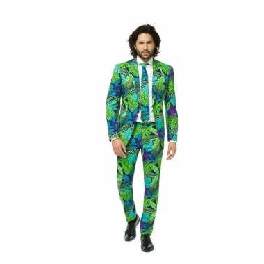 Feest kostuum met jungle print