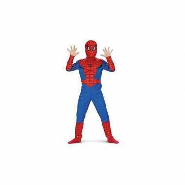 Feest spiderman kostuum