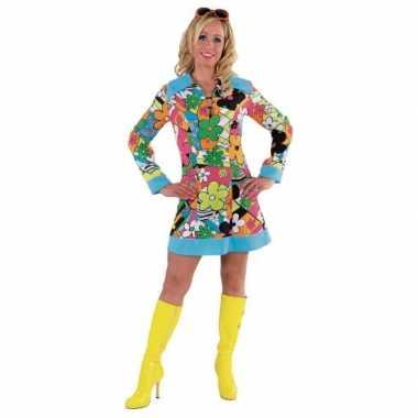Flower power kostuum dames