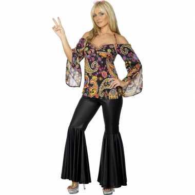 Flower power verkleed kostuum dames