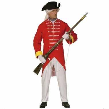 Franse revolutie kostuum rood