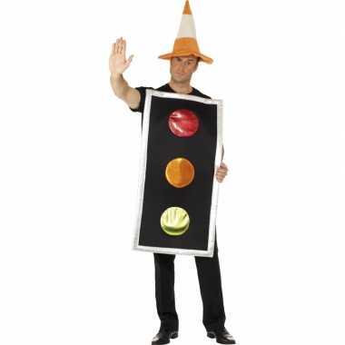 Funny kostuum stoplicht heren