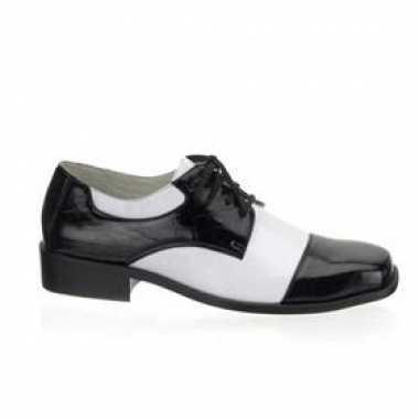 Gangster heren schoenen krokdillenprint