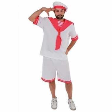 Gay pride/parade roze matrozen kostuum voor heren