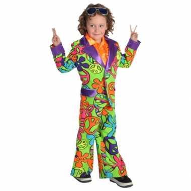 Gekleurd hippie kostuum voor jongens