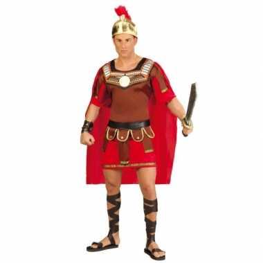 Gladiator kostuum met helm voor heren