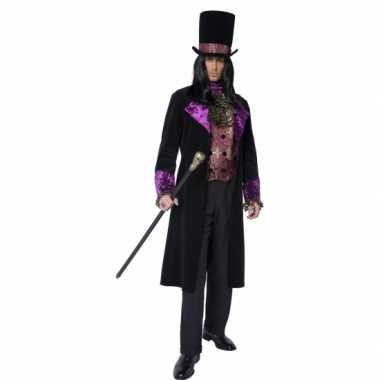 Gothic graaf kostuum voor heren