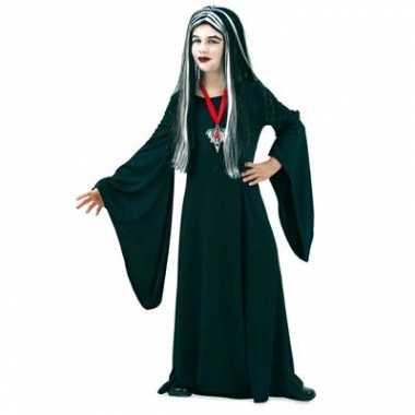 Gothic jurk zwart voor kinderen