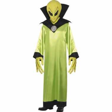 Groen alien kostuum volwassenen