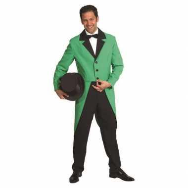 Groene carnavalskostuum slipjas