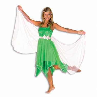 Groene elfen kostuum dames