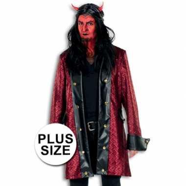 Grote maten verkleed kostuum duivel
