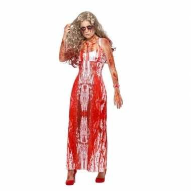 Halloween carrie kostuum voor dames