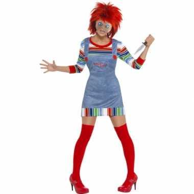 Halloween dames kostuum chucky