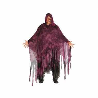 Halloween horror duistere man kostuum paars