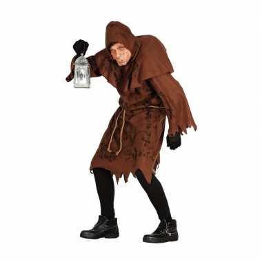 Halloween horror kostuum gebochelde man