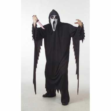 Halloween scream kostuum grote maat