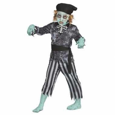 Halloween zombie piraten kostuum voor jongens
