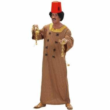 Heren kostuum marrokaans bruin