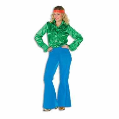 Hippie broek blauw voor dames