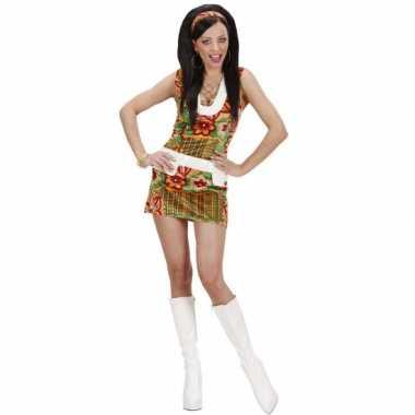 Hippie kostuum voor dames flowers