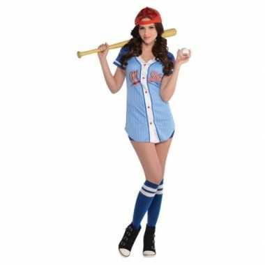 Honkballer kostuum voor dames