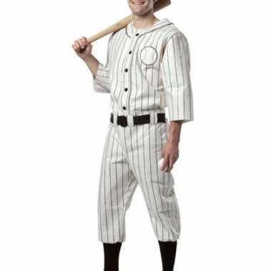 Honkballer kostuum voor heren
