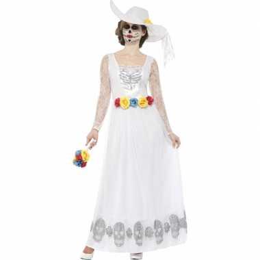 Horror kostuum bruidsjurk