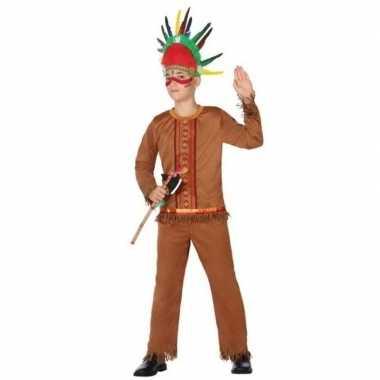 Indiaan/indianen kostuum/verkleed kostuum voor jongens