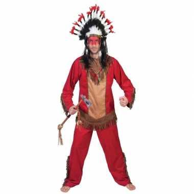 Indiaan lootah verkleed kostuum voor heren