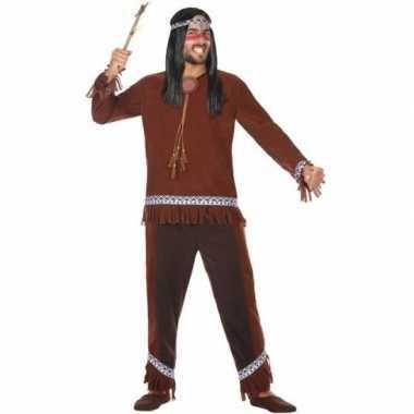 Indianen choctaw verkleed kostuum/kostuum voor heren