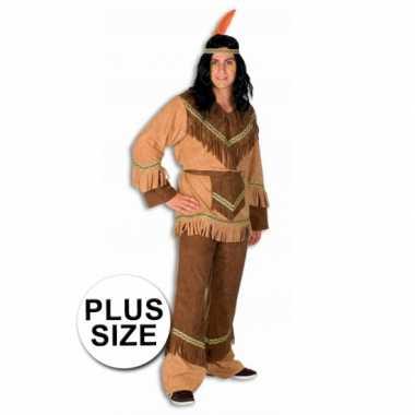 Indianen kostuum in grote maten