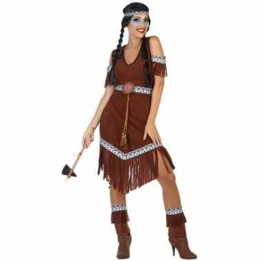 Indianen nahele verkleed kostuum/kostuum voor dames