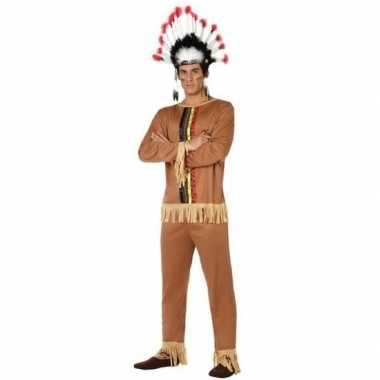 Indianen pallaton verkleed kostuum/kostuum voor heren
