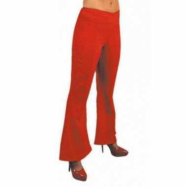 Jaren 60 dames broek rood