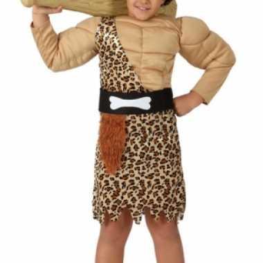 Jongens kostuum holbewoner