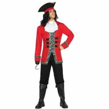 Kapitein piraat james verkleed kostuum/kostuum voor heren