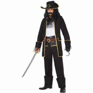 Kapitein piraat thomas verkleed kostuum/kostuum voor heren