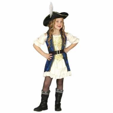 Kapiteinskostuum piraat voor meisjes