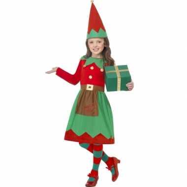 Kerstelf jurkje met muts
