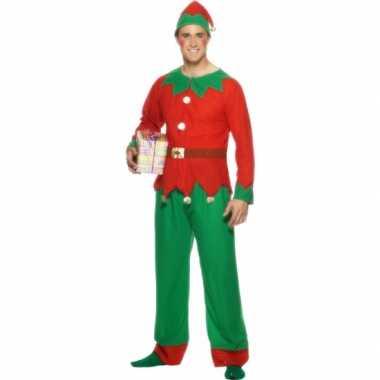 Kerstelf kostuum voor mannen