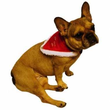 Kerstmannen halsband voor huisdieren