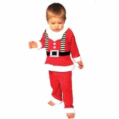 Kerstmannen kostuum voor peuters