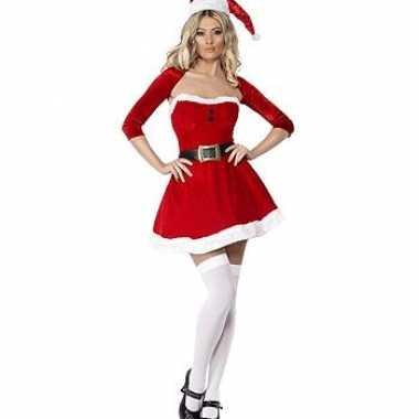 Kerstvrouw jurkje met bolero