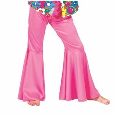 Kids hippie broek roze