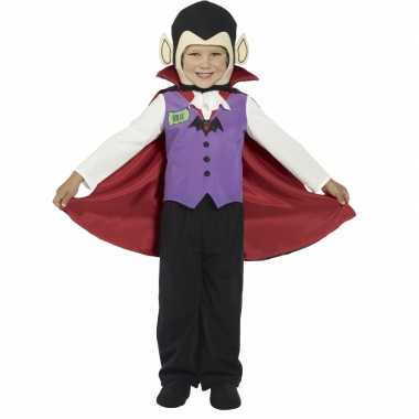 Kids vampier kostuum met cape