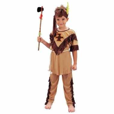 Kinder carnavalskostuum indiaan