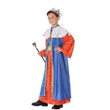 Kinder kostuum wijzen uit het oosten blauw