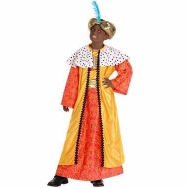 Kinder kostuum wijzen uit het oosten geel